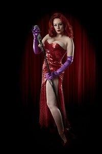 movie magic - Jessica Rabbit shoot