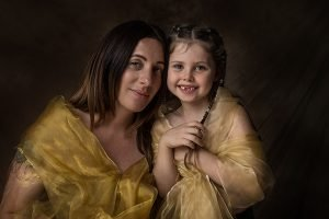 mother and daughter family shoot
